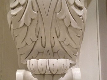 Kitchen unit corbel