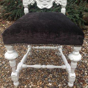 Handpainted chairs